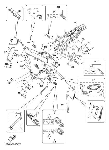 Schema Elettrico Yamaha Xt 600 : Schema motore yamaha xt fare di una mosca